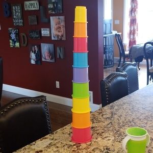 Colorful Stacking Cups